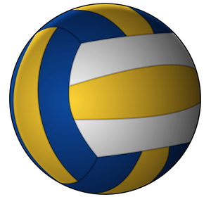 vector-volleybal